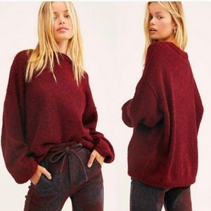 Free People Angelic Pullover size xs Alpaca